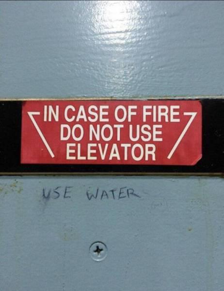 Funny Examples Of Vandalism (20 pics)