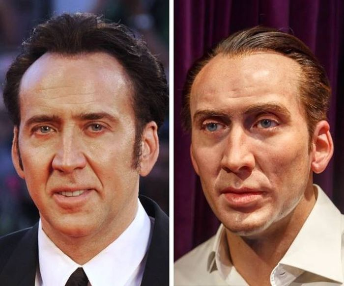 Awkward Celebrity Wax Statues (14 pics)