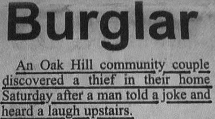 Incredible Newspaper Headlines (21 pics)