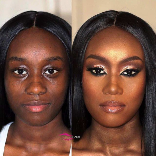 With And Without Makeup (16 pics)