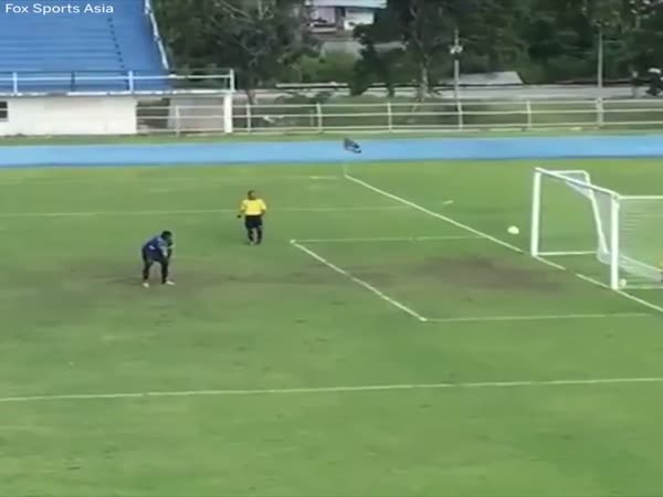 Most Unexpected Penalty Goal