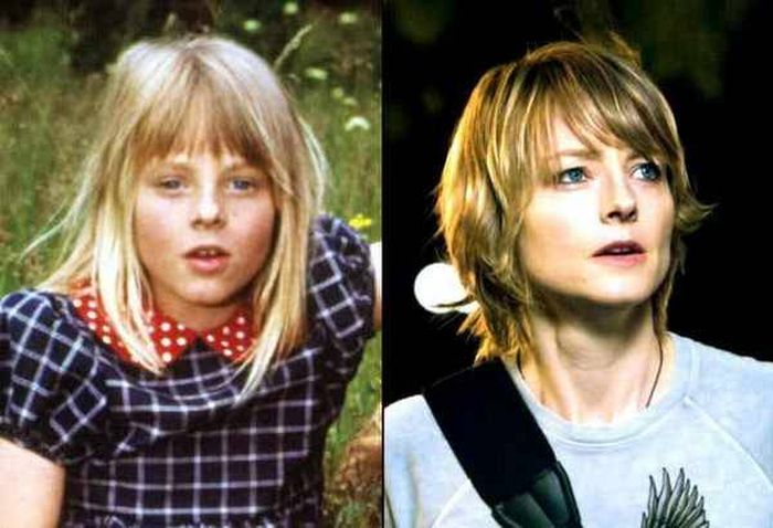 Famous Actors As Kids And Now (23 pics)