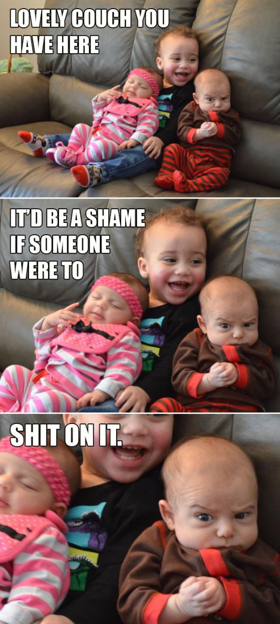 Badass Babies (12 pics)