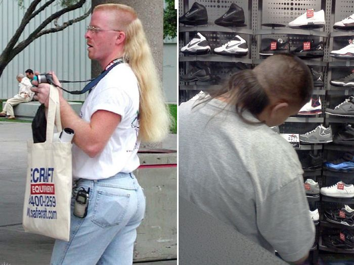 Is The Mullet The World's Worst Hairstyle (15 pics)