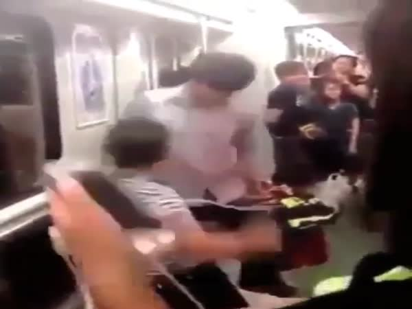 Dude Gets His Ass Beat For Disrespecting Guy And His Girlfriend