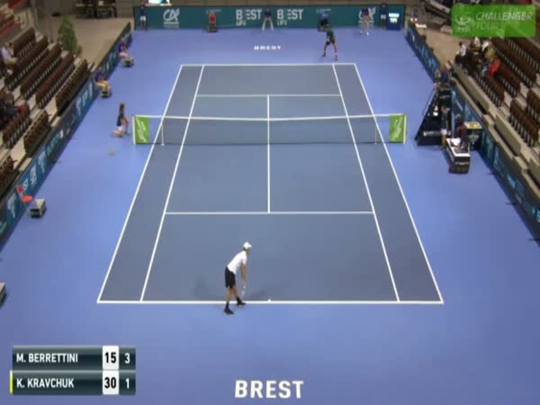 Matteo Berrettini Destroyed The Roof. No One Was Harmed