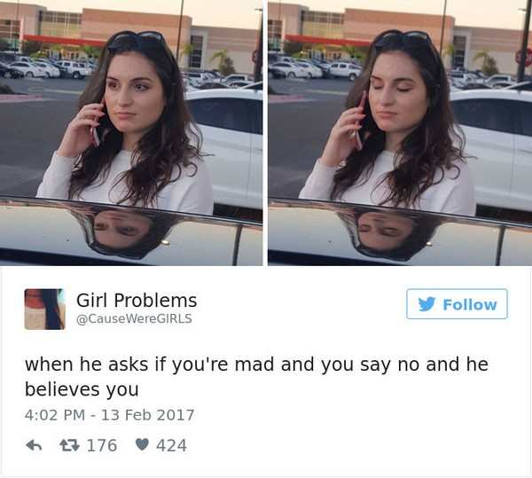 Funny Tweets About Being A Woman (21 pics)