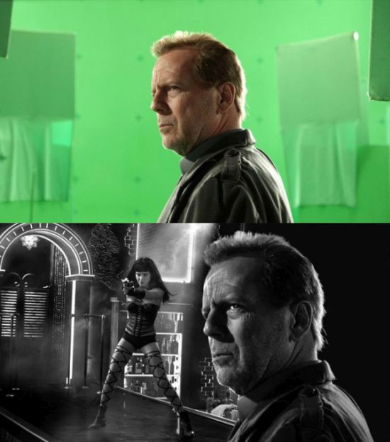 Sin City Green Screen (23 pics)
