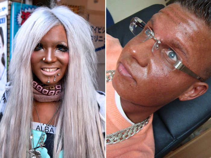 Examples Of Bad Fake Tan (17 pics)