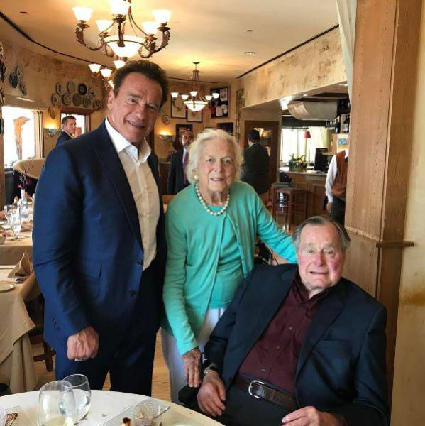 Instagram Photos Of Arnold Schwarzenegger (19 pics)