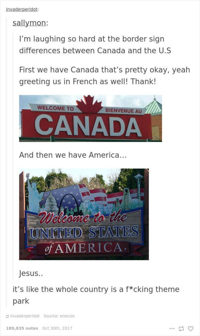 Canada Never Gets Enough Of Roasting USA (20 pics)