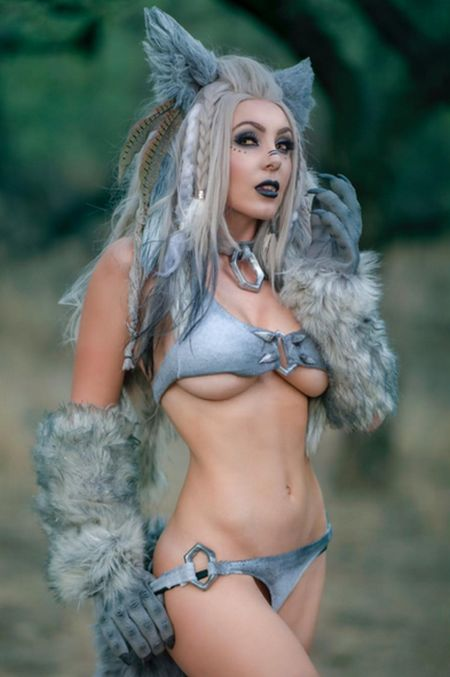 Sexy Cosplay From Jessica Nigri (15 pics)