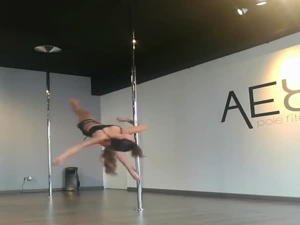 Pole Dancing At Its Best