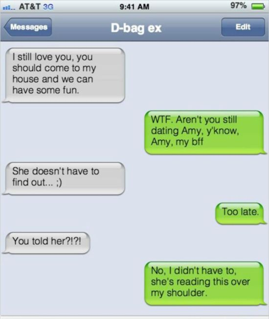 Cheaters Get Busted (9 pics)
