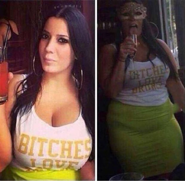 Girls In Profile Pictures And In Real Life (15 pics)