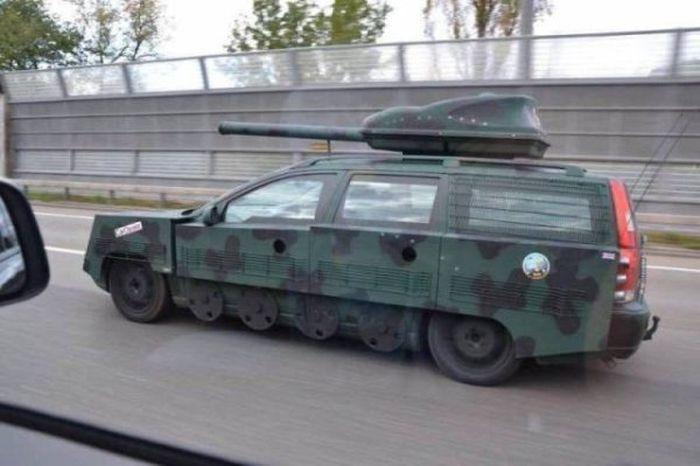 Bizarre Cars (28 pics)