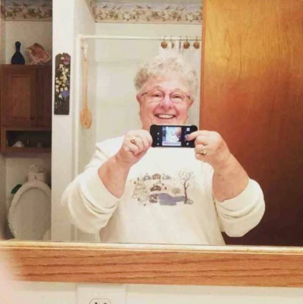 Cool Grandparents (28 pics)