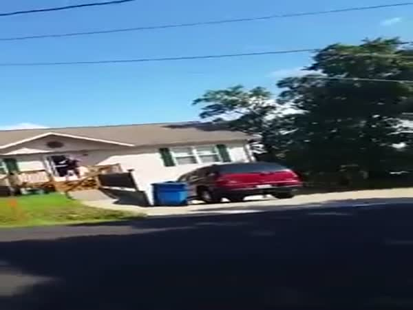 Angry Neighbor Freakout Over BB Gun