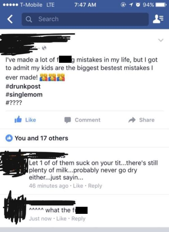 Trashy Facebook Posts (24 pics)