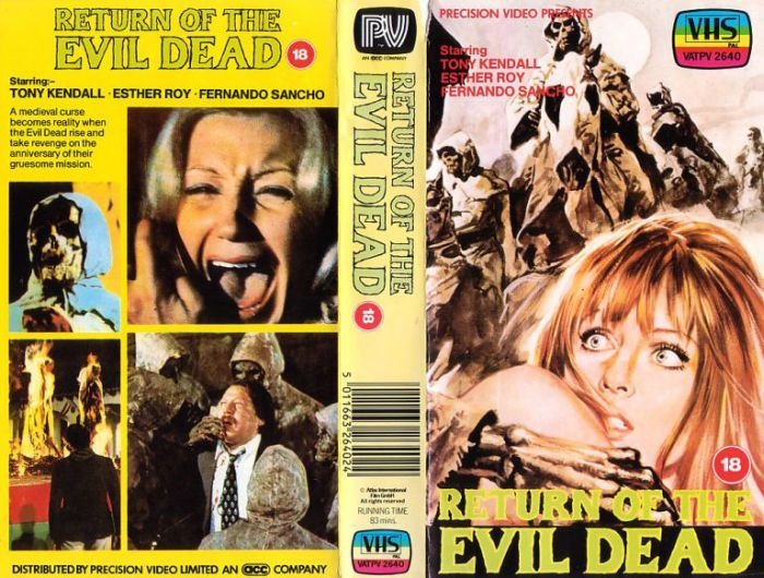 VHS Covers Of Horror Movies (30 pics)