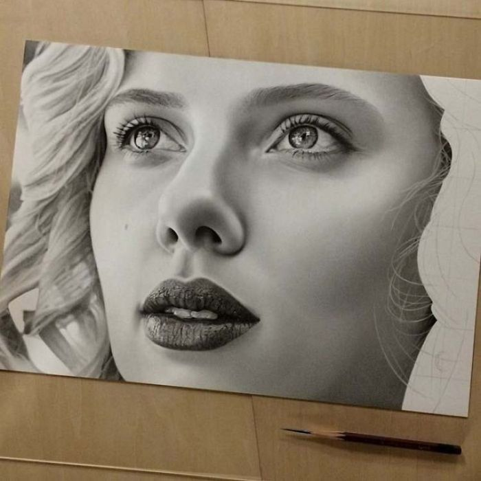 Realistic Pencil Drawings By A Japanese Artist (12 pics)