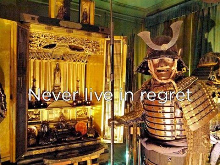 Samurai Knew How One Has To Live A Life (20 pics)