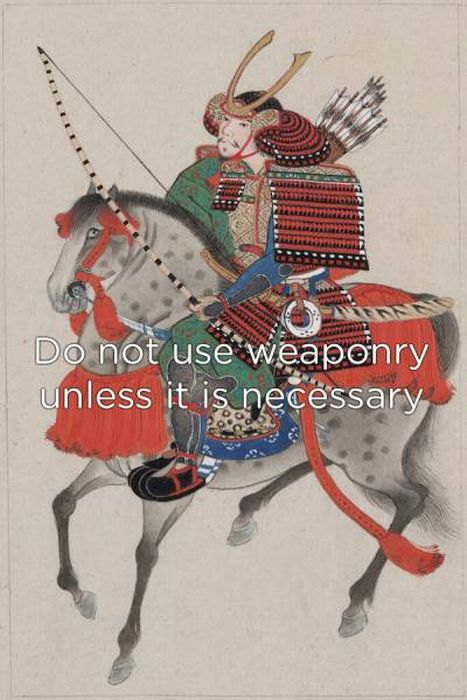 Samurai Knew How One Has To Live A Life (20 pics)