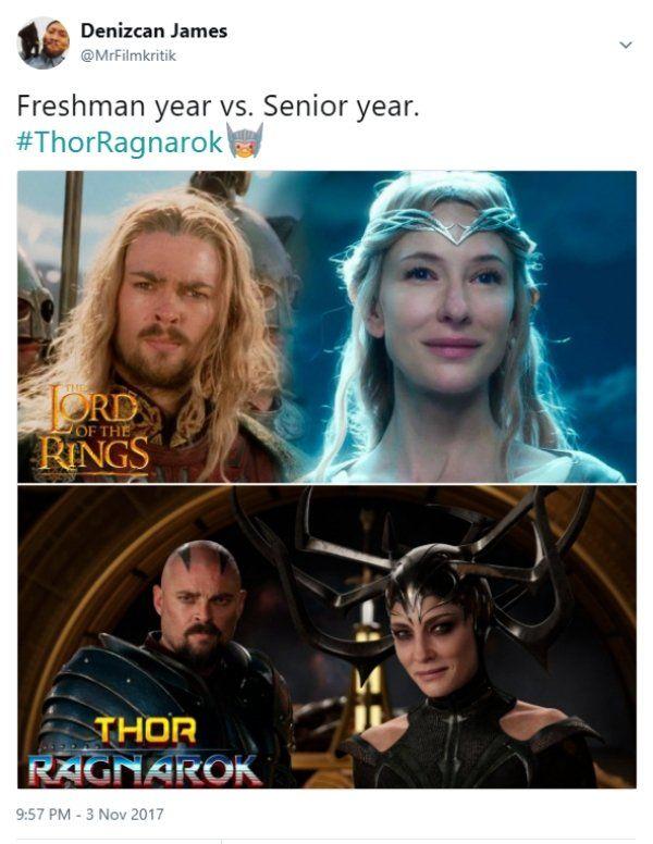 Thor Ragnarok Reactions (22 pics)