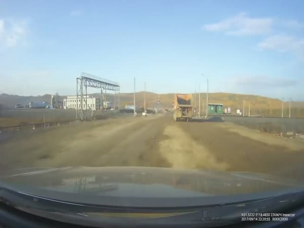 Truck vs Train: Railroad Crossing Accident