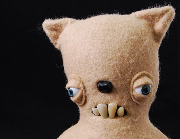 Funny and Cute Plush Toys by Anna Sternik (15 pics)
