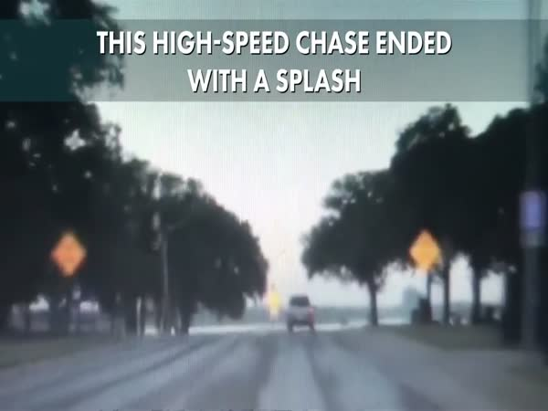High-Speed Chase Ended With a Splash