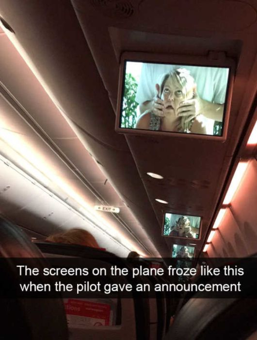 Funny And Interesting Photos From The Planes (22 pics)