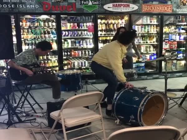 The World's Shittiest Band Plays A Show In A Liquor Store