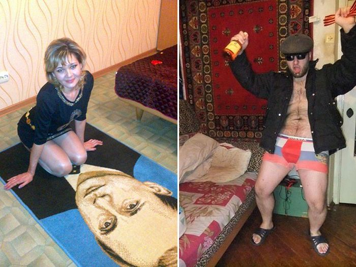 Why Are Russians So Obsessed With Carpets? (19 pics)