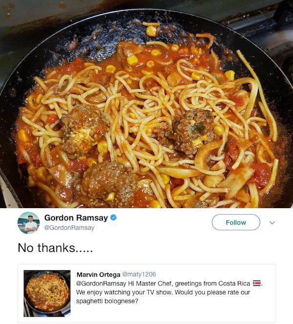 Gordon Ramsay's Twitter (26 pics)