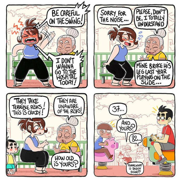These Comics Perfectly And Hilariously Sum Up Parenting (24 pics)
