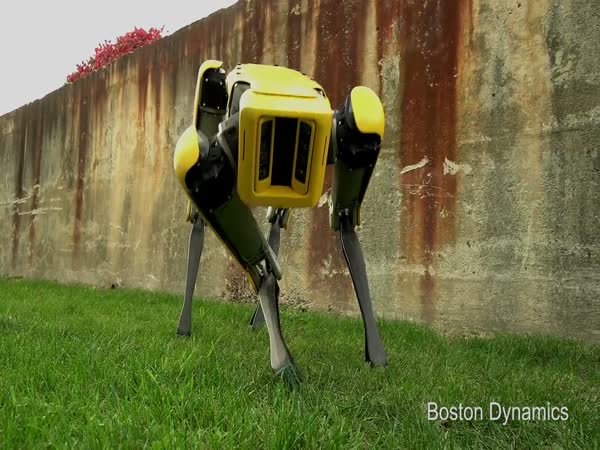 Boston Dynamics New SpotMini Robot