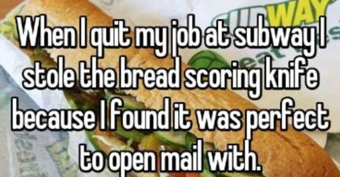 Employees Reveal The Very Random Items They Have Swiped From The Office (19 pics)