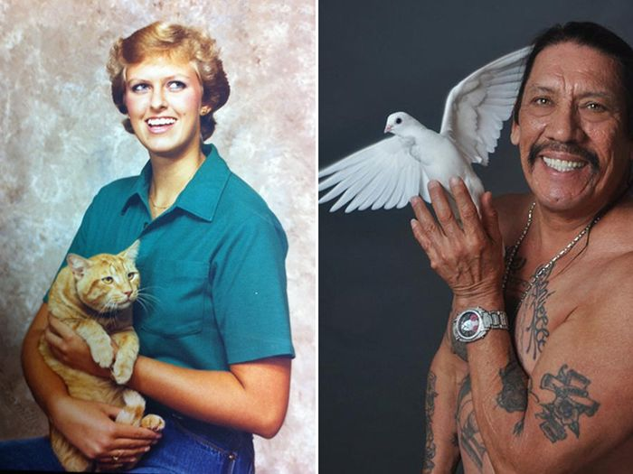 Awkward Glamour Shots With Pets (19 pics)