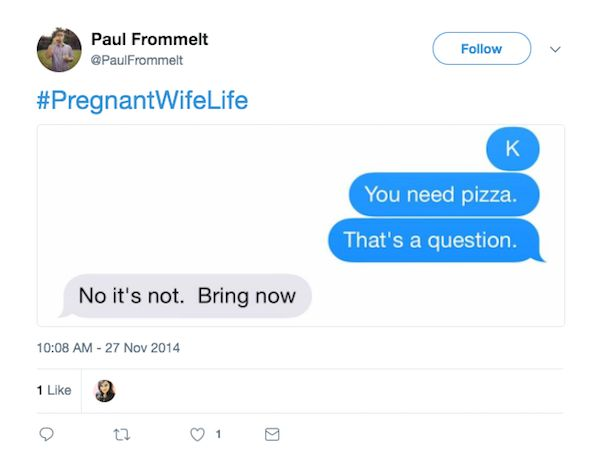 What's It's Like To Have a Pregnant Wife (21 pics)