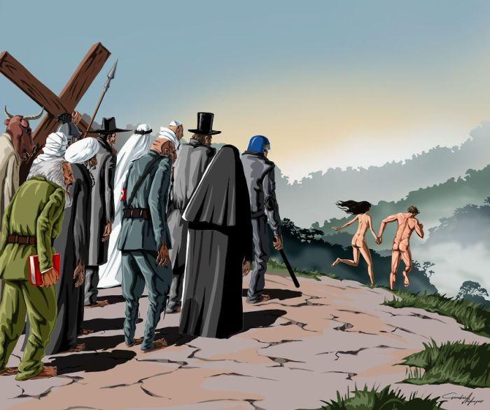 Problems of Modern Society by Gunduz Aghayev (11 pics)