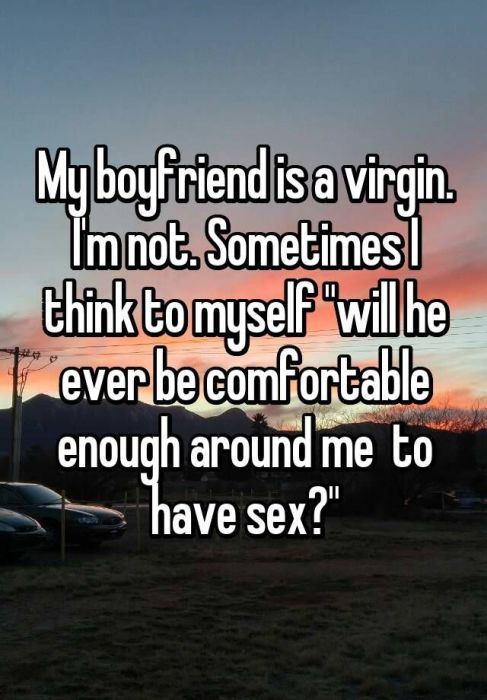 People Tell About Dating A Virgin (11 pics)