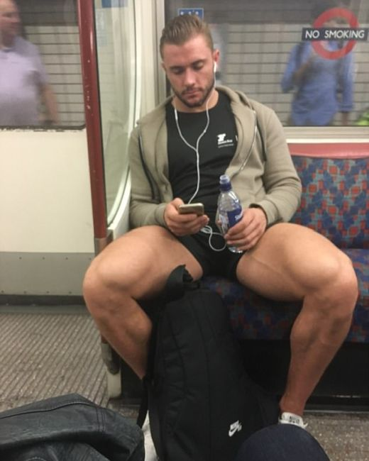 Photos Of Hot Commuters Taken By Females On The London Underground