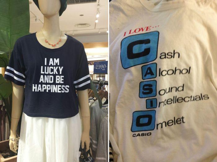 Translated Asian Shirts (20 pics)