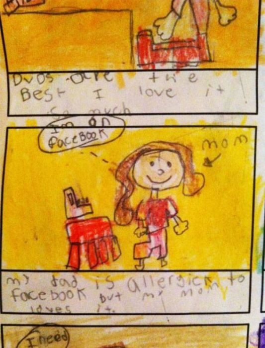 Kids Say Truth About Their Parents (18 pics)