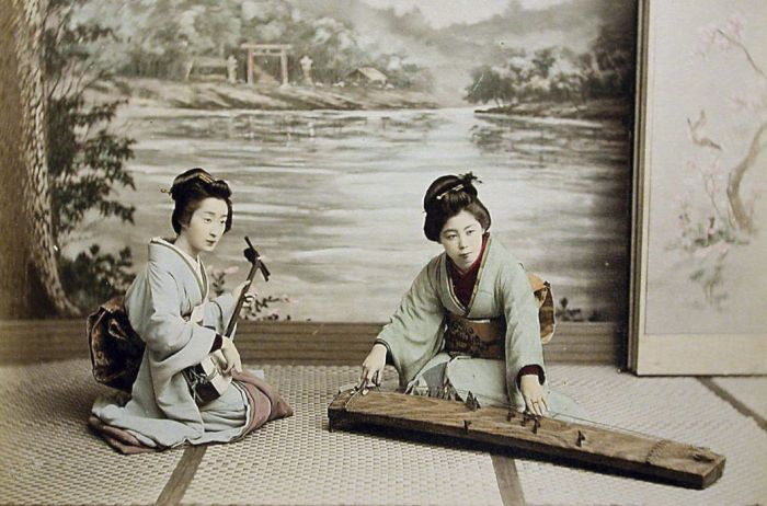 Color Photographs Of Japan Of The XIX Century (20 pics)