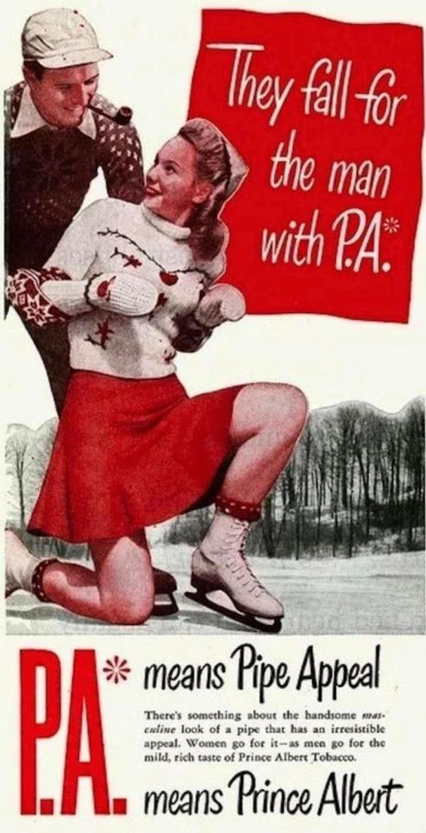 Vintage Christmas Ads That Look Unappropriate Today  (14 pics)