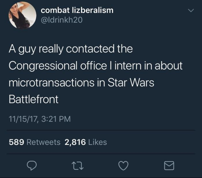 Guy Gets So Fed Up With EA's Antics He Actually Contacts His Senator (4 pics)