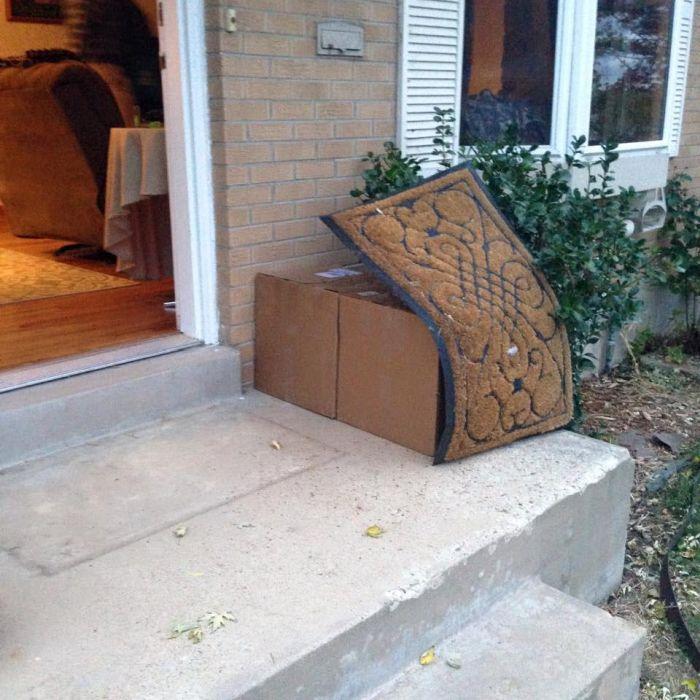 Parcel Hiding Fails (20 pics)