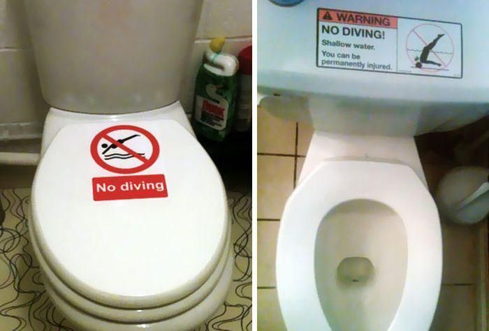 Funny Warning Signs (18 pics)